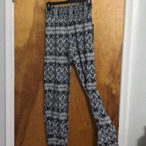 NWT Ikat High Waisted Pants